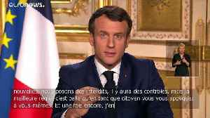 Coronavirus: Macron announces new 15-day restrictions to stop spread of COVID-19 [Video]