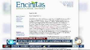 Positive coronavirus case confirmed at North County school [Video]