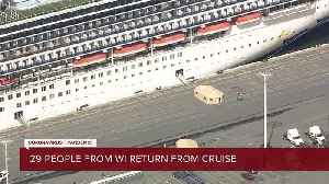 29 cruise ship passengers aboard the Grand Princess during coronavirus outbreak are now back in Wis. [Video]