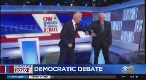 Biden, Sanders Tackle Coronavirus Response At Dem Debate [Video]