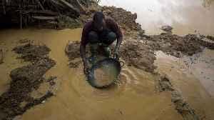 Ghana: Illegal gold mining threatens water supplies [Video]