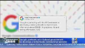 Google Developing National Coronavirus Website [Video]