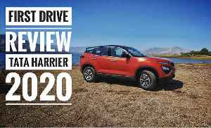 Tata Harrier 2020 Automatic and Manual: First Drive Review [Video]