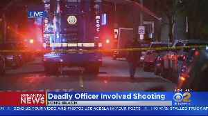 Woman With Knife Shot, Killed By Police In Long Beach [Video]