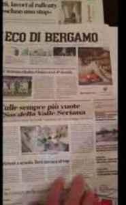 Italian newspaper's obituary column grows as coronavirus death toll rises [Video]