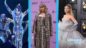 Taylor Swift, Lady Gaga and Ariana Grande Urge Fans to Take Coronavirus Seriously   Billboard News [Video]
