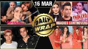 Ranbir Kisses Alia, Sara Ali Khan Ganga Aarti, Salman Wishes Aamir | Top 10 News [Video]