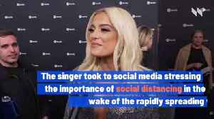Bebe Rexha Issues Plea After Death of 45-Year-Old Acquaintance to Coronavirus [Video]