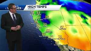Slight chance of rain tomorrow as a cool down arrives for a few days [Video]