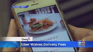 Uber Eats Waives Delivery Fees For 100K Independently Owned Restaurants [Video]