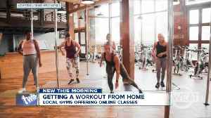 News video: How gyms in Western New York are helping you workout from home to prevent the spread of coronavirus