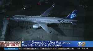 Flight Grounded At JFK Over Possible Exposure [Video]
