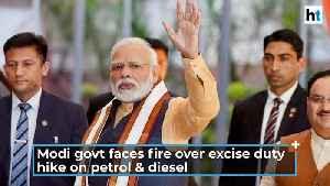 Watch: Opposition slams Modi govt over hike in excise duty on petrol, diesel [Video]