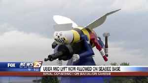 Uber and Lyft now allowed on Seabee Base [Video]