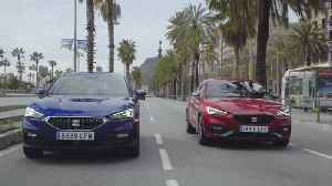 The all-new Seat Leon Sportstourer XCellence Mistery Blue & Seat Leon FR Desire Red [Video]