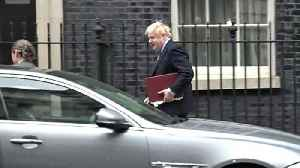 Boris Johnson departs for PMQs [Video]