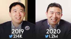 Andrew Yang: Same Interview, One Year Apart [Video]