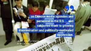 China to Expel 'New York Times,' 'Wall Street Journal' and 'Washington Post' Reporters [Video]