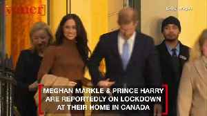 Where Are Meghan Markle & Prince Harry Riding Out the Coronavirus Outbreak Lockdown? [Video]