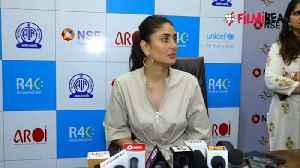 Kareena Kapoor Khan talks on child safety at UNICEF event [Video]