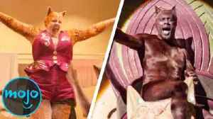 Top 10 Scenes in Cats That Will Make You Cringe [Video]