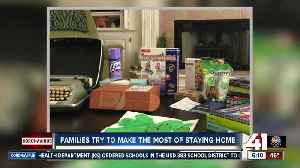 Kansas City families find activities for children at home due to COVID-19 [Video]