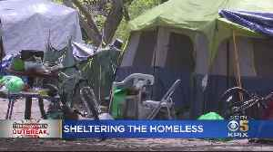 Coronavirus-Related Death Of Southbay Homeless Person Sets Off Race To Find Shelter [Video]