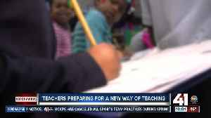 Teachers prepare for a new way of teaching [Video]