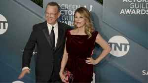 Tom Hanks struggling with tiredness and card shark wife as coronavirus isolation drags on [Video]