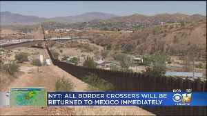 Trump Administration Considering New Ban Along U.S.-Mexican Border [Video]