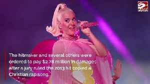 Katy Perry wins appeal over Dark Horse plagiarism lawsuit [Video]