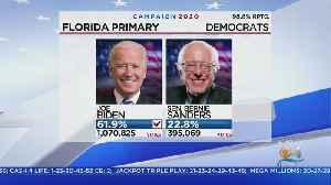 Florida Primary Win Increases Joe Bidens Lead Over Bernie Sanders [Video]