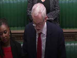 Corbyn urges Johnson to guarantee sick pay for all during Covid-19 crisis [Video]