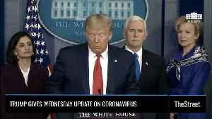 Watch: Trump Invokes Defense Production Act In Effort to Combat Coronavirus Spread [Video]