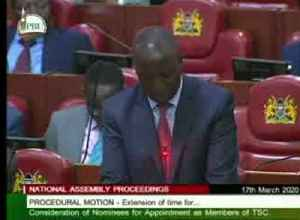 Kenyan MP forced out of parliament session by 'quarantine!' chants [Video]