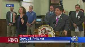 Gov. JB Pritzker Announces 128 New COVID-19 Cases In Illinois [Video]