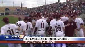 SEC cancels all spring competition due to Coronavirus [Video]