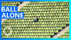 Man reserves 1,873 seats at baseball games for privacy [Video]
