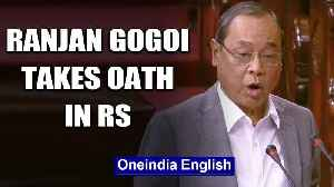Former CJI Ranjan Gogoi takes oath as a Rajya Sabha MP, opposition stages a walkout | Oneindia News [Video]