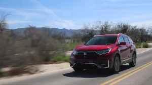 2020 Honda CR-V Hybrid Driving Video [Video]