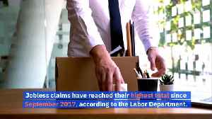 Weekly Unemployment Claims up to 281,000 Due to Coronavirus Layoffs [Video]