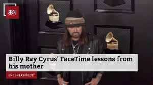 Billy Ray Cyrus And His Mom On Facetime [Video]