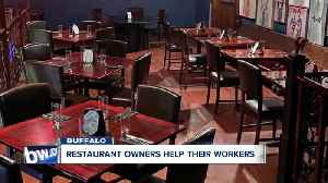 Restaurants finding ways to help out of work employees [Video]