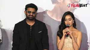 Saaho Trailer: Shraddha Kapoor praises Prabhas [Video]