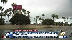 Major changes made at MCAS Miramar due to outbreak [Video]