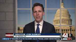 Hawley introduces Emergency Family Relief Act [Video]
