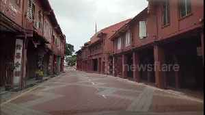 News video: World Heritage Site Malacca left deserted after sharp spike in COVID-19 cases in Malaysia