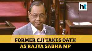 Former Cji Takes Oath As Rajya Sabha Mp [Video]