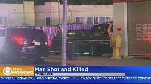 Man Shot, Killed In Commerce Parking Lot [Video]