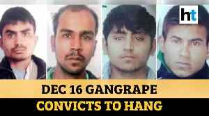 Delhi 2012 gangrape convicts to hang on March 20 after court rejects plea [Video]